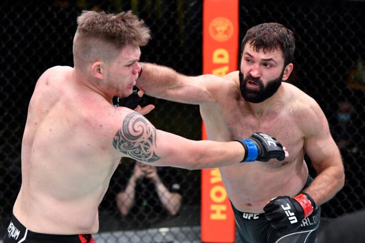 UFCファイトナイト・ラスベガス24:アンドレイ・アルロフスキー vs. チェイス・シャーマン【アメリカ・ネバダ州ラスベガス/2021年4月17日(Photo by Chris Unger/Zuffa LLC)】