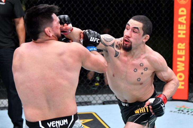 UFCファイトナイト・ラスベガス24:ロバート・ウィテカー vs. ケルヴィン・ガステラム【アメリカ・ネバダ州ラスベガス/2021年4月17日(Photo by Chris Unger/Zuffa LLC)】