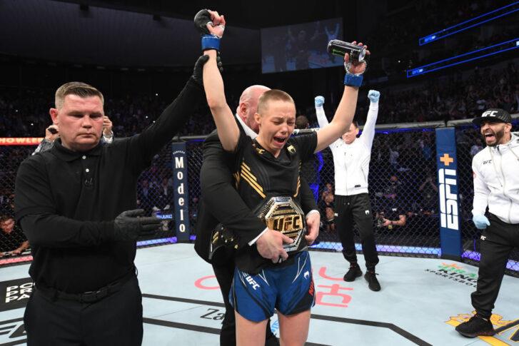 UFC 261:ジャン・ウェイリー vs. ローズ・ナマユナス【アメリカ・フロリダ州ジャクソンビル/2021年4月24日(Photo by Josh Hedges/Zuffa LLC)】