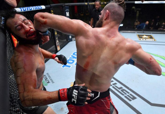 UFCファイトナイト・ラスベガス25:ドミニク・レイエス vs. イリー・プロハースカ【アメリカ・ネバダ州ラスベガス/2021年5月1日(Photo by Jeff Bottari/Zuffa LLC)】