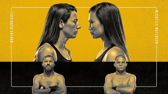 UFCファイトナイト・ラスベガス26:ロドリゲス vs. ウォーターソン
