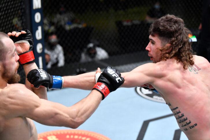 UFCファイトナイト・ラスベガス26:ルドビト・クライン vs. マイケル・トリザーノ【アメリカ・ネバダ州ラスベガス/2021年5月8日(Photo by Chris Unger/Zuffa LLC)】