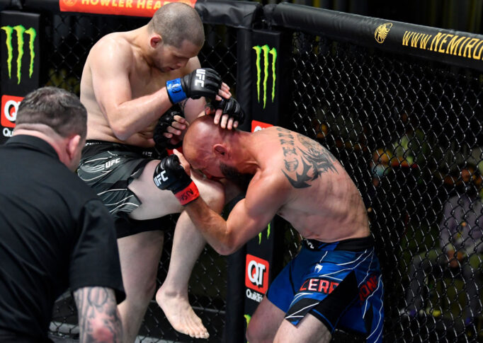 UFCファイトナイト・ラスベガス26:ドナルド・セラーニ vs. アレックス・モロノ【アメリカ・ネバダ州ラスベガス/2021年5月8日(Photo by Chris Unger/Zuffa LLC)】