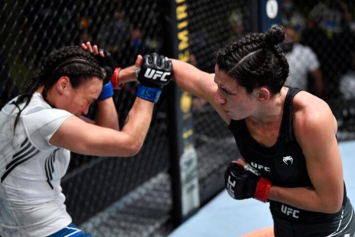 UFCファイトナイト・ラスベガス26:マリナ・ロドリゲス vs. ミシェル・ウォーターソン【アメリカ・ネバダ州ラスベガス/2021年5月8日(Photo by Chris Unger/Zuffa LLC)】