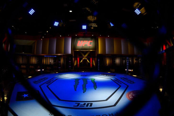 UFCファイトナイト・ラスベガス28:オクタゴン【アメリカ・ネバダ州ラスベガス/2021年6月5日(Photo by Jeff Bottari/Zuffa LLC)】