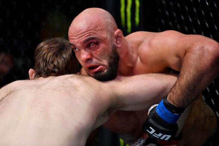 UFCファイトナイト・ラスベガス28:タナー・ボーザー vs. イリル・ラティフィ【アメリカ・ネバダ州ラスベガス/2021年6月5日(Photo by Jeff Bottari/Zuffa LLC)】