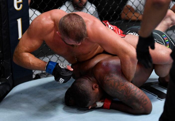 UFCファイトナイト・ラスベガス28:ウォルト・ハリス vs. マルチン・ティブラ【アメリカ・ネバダ州ラスベガス/2021年6月5日(Photo by Jeff Bottari/Zuffa LLC)】