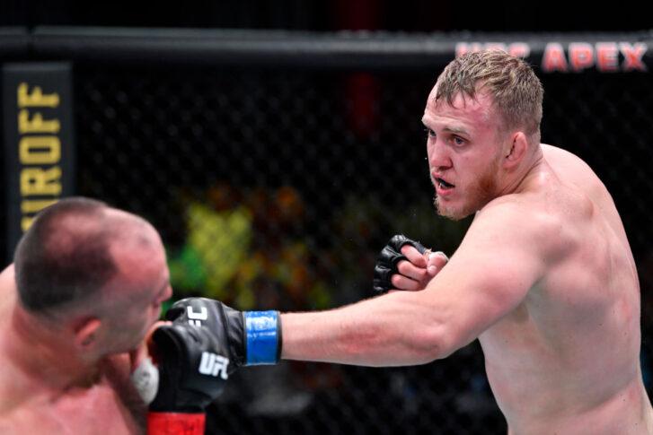 UFCファイトナイト・ラスベガス29:アレクセイ・オレイニク vs. セルゲイ・スピバック【アメリカ・ネバダ州ラスベガス/2021年6月19日(Photo by Chris Unger/Zuffa LLC)】