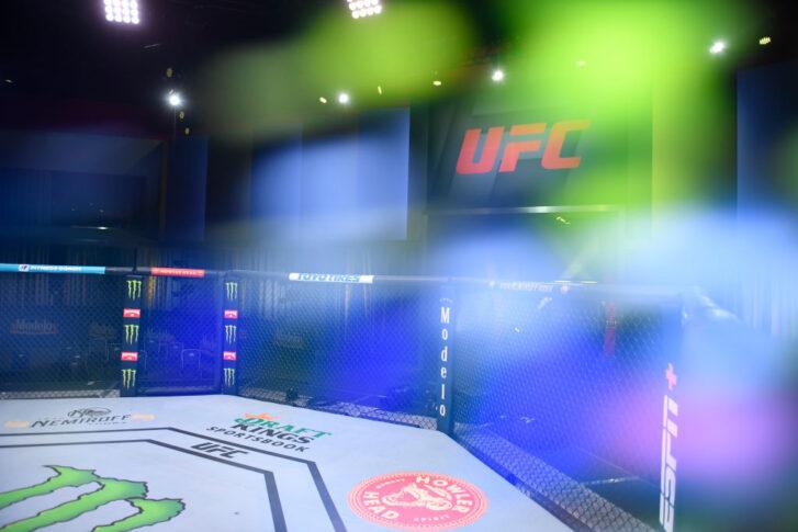 UFCファイトナイト・ラスベガス30:オクタゴン【アメリカ・ネバダ州ラスベガス/2021年6月26日(Photo by Chris Unger/Zuffa LLC)】