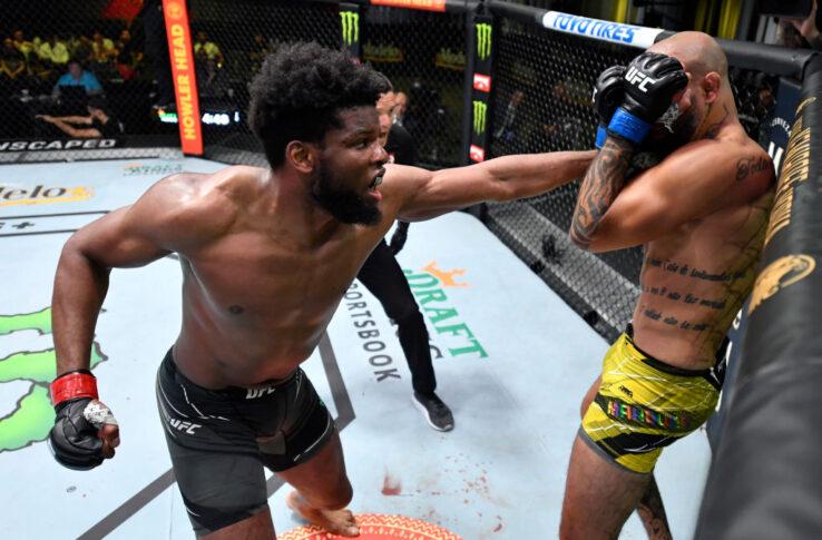 UFCファイトナイト・ラスベガス30:ケネディ・エンジーチュクー vs. ダニーロ・マルケス【アメリカ・ネバダ州ラスベガス/2021年6月26日(Photo by Chris Unger/Zuffa LLC)】