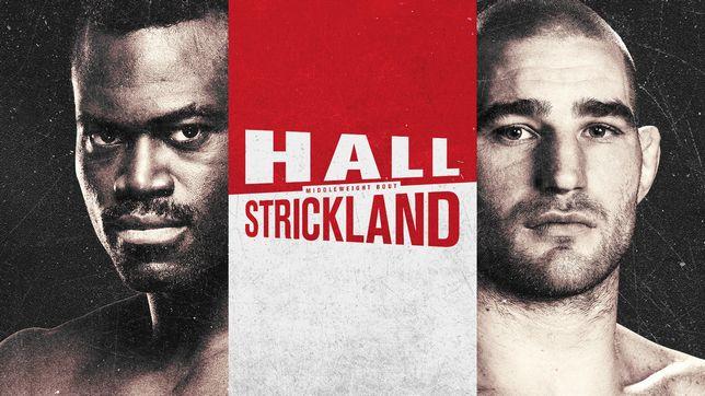 UFCファイトナイト・ラスベガス33:ホール vs. ストリックランド