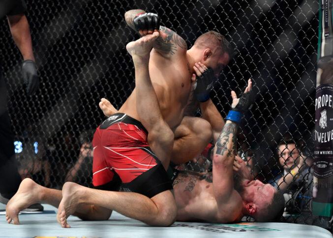 UFC 264:ダスティン・ポワリエ vs. コナー・マクレガー【アメリカ・ネバダ州ラスベガス/2021年7月10日(Photo by Chris Unger/Zuffa LLC)】