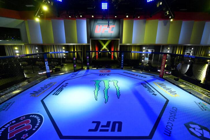 UFCファイトナイト・ラスベガス31:オクタゴン【アメリカ・ネバダ州ラスベガス/2021年7月17日(Photo by Jeff Bottari/Zuffa LLC)】