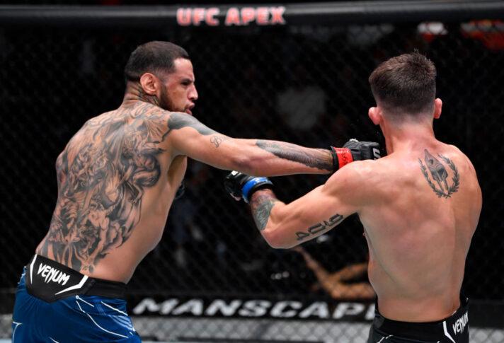 UFCファイトナイト・ラスベガス31:ダニエル・ロドリゲス vs. プレストン・パーソンズ【アメリカ・ネバダ州ラスベガス/2021年7月17日(Photo by Jeff Bottari/Zuffa LLC)】