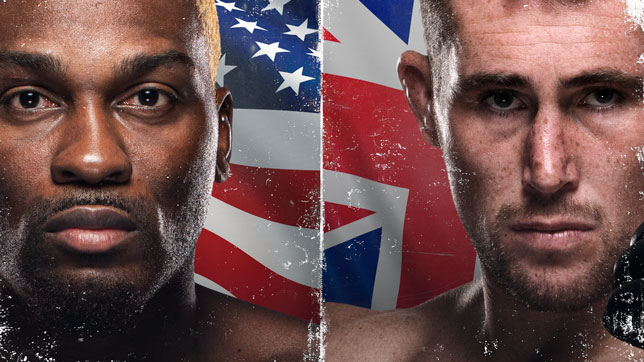 UFCファイトナイト・ラスベガス36:ブランソン vs. ティル