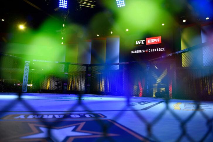 UFCファイトナイト・ラスベガス35:オクタゴン【アメリカ・ネバダ州ラスベガス/2021年8月28日(Photo by Chris Unger/Zuffa LLC)】