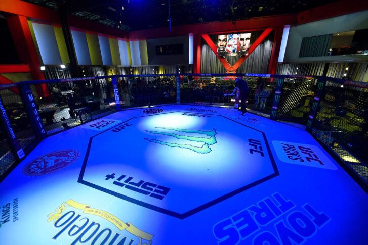 UFCファイトナイト・ラスベガス36:オクタゴン【アメリカ・ネバダ州ラスベガス/2021年9月4日(Photo by Jeff Bottari/Zuffa LLC)】